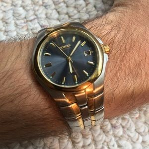 Citizen Eco Drive Gold & Silver Watch